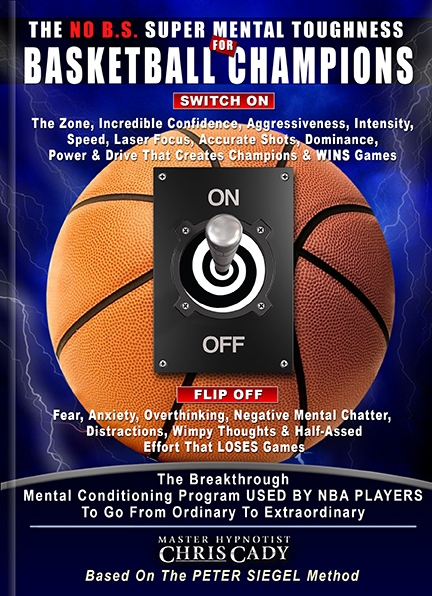 basketball mental toughness sports hypnosis for NBA basketball players with hypnosis psychology cd