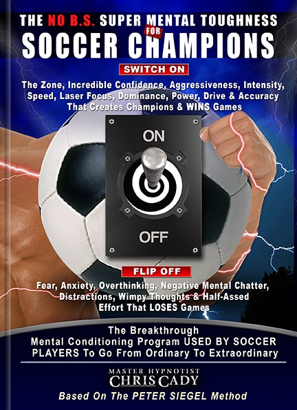 soccer sports hypnosis psychology mental toughness program cdc cover for soccer players