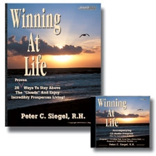 winning at life hypnosis book cd  by peter siegel